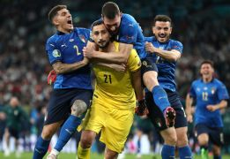 Italy Goalkeeper Gianluigi Donnarumma Signs Five-Year Deal At Psg