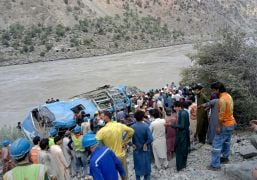 'Traces Of Explosives' Found At Pakistan Bus Crash Site