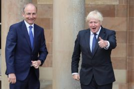 Boris Johnson Calls For 'Pragmatism' Over Ni Protocol In Call With Taoiseach