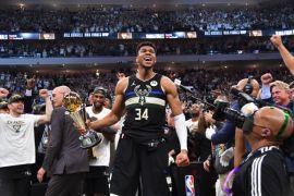 Giannis Antetokounmpo Scores 50 Points As Milwaukee Bucks Win Second Nba Title