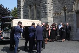 Des O'malley's Death A Threshold Moment For Irish Society, Funeral Told
