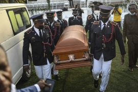 Haitian President's Hometown Holds Funeral Amid Violence