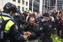 Thousands Protest Lockdown Across Australia