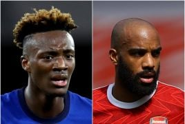 Alexandre Lacazette Out And Tammy Abraham In At Arsenal
