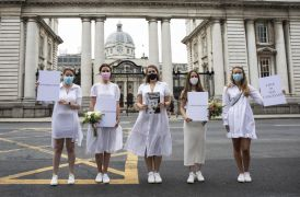 Wedding Parties Increased To 100 Guests As Brides-To-Be Stage Protest