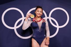 Teenager Sunisa Lee Grabs All-Around Gold In Front Of Team-Mate Simone Biles