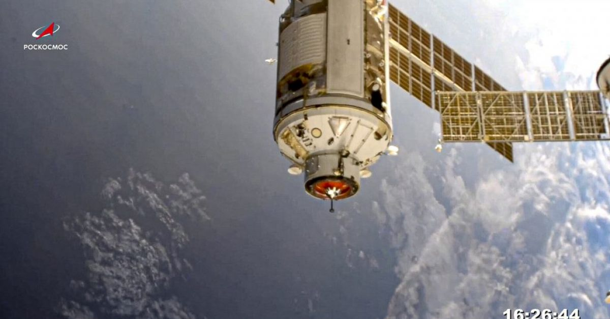 New Russian lab briefly knocks space station out of position