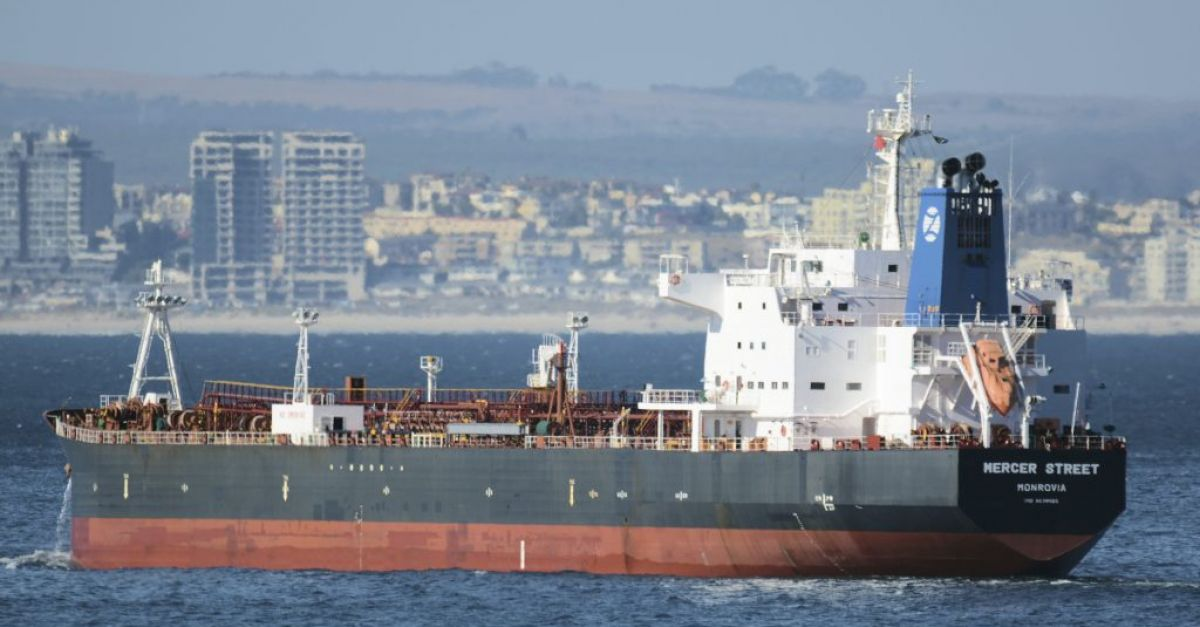 Israel accuses Iran of drone attack on tanker that left British dead