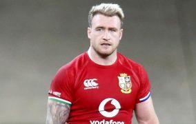 Lions Full-Back Stuart Hogg Denies Biting South Africa's Willie Le Roux