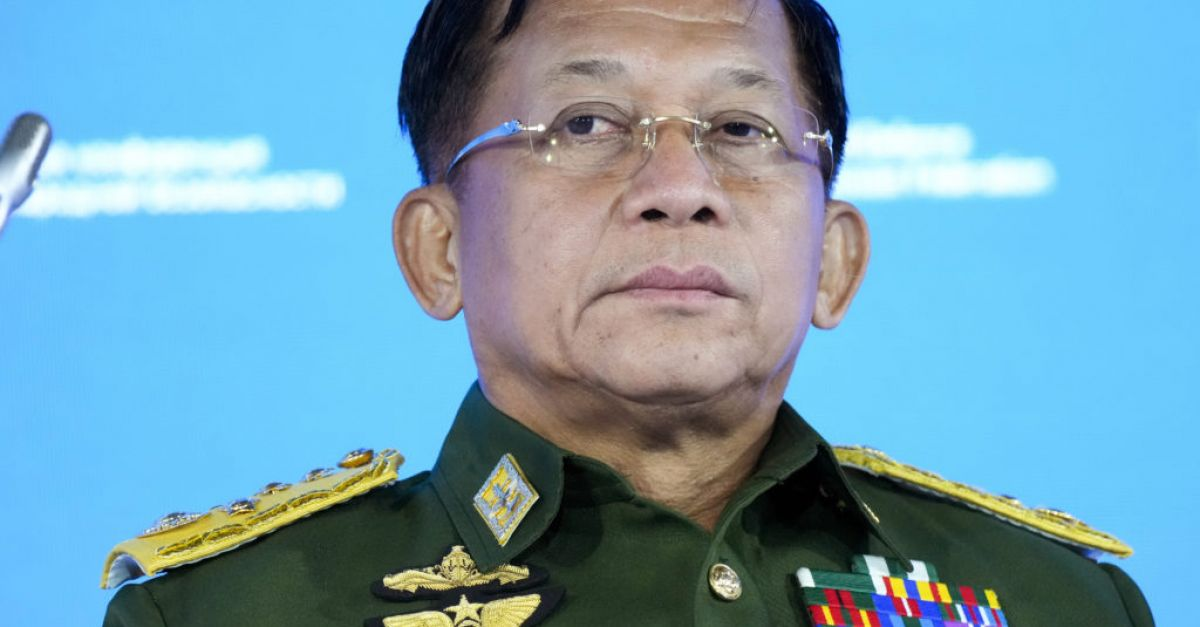 Myanmar's military leader vows to hold elections in two years