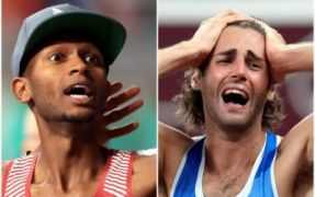 Italy And Qatar Share Gold In Emotional Climax To High Jump Competition