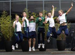 Heroes' Welcome: Team Ireland Rowing Medallists Return From Tokyo