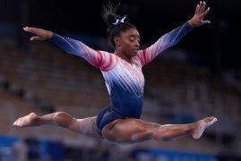 Olympics: Simone Biles Wins Bronze Medal In Balance Beam Final