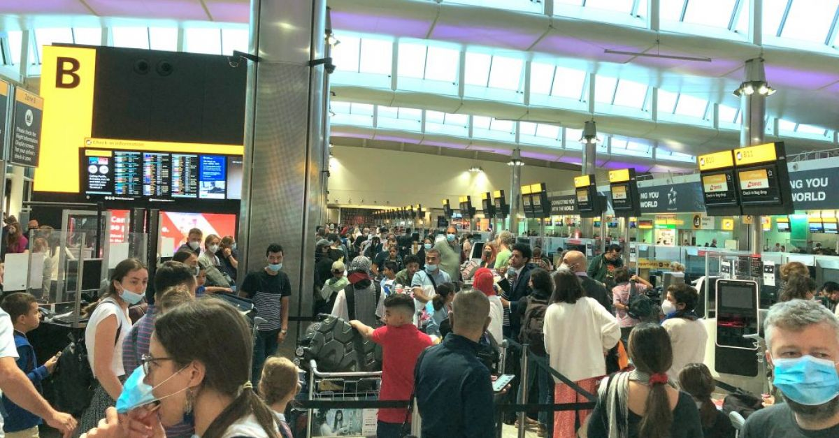 UK government urged to halt 'chaotic scenes' at airports
