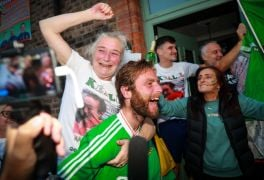 Joyous Scenes As Kellie Harrington's Family And Friends Celebrate Her Gold Medal