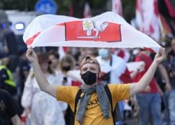 Hundreds In Warsaw Protest Political Repression In Belarus