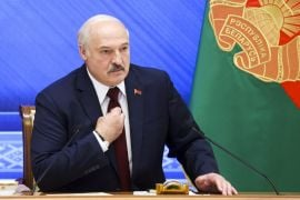 Belarus Leader Denies Repression A Year After Disputed Vote