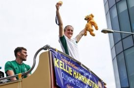 Kellie Harrington Receives Warm Welcome Home