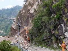 Rescuers Forced To Suspend Search At Site Of India Landslide