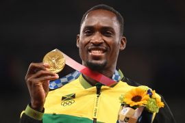 Jamaican Gold Medallist Thanks Volunteer Who Paid For His Taxi To Olympic Stadium