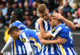 Brighton Come From Behind To Beat Burnley