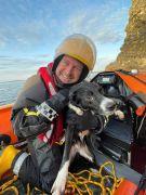 'Wonderdog' June Survives 180-Foot Fall From Cliffs