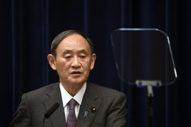 Yoshihide Suga Bows Out Of Leadership Race In Sign He Will Step Down As Japan Pm