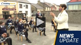 Video: Record Leaving Cert Results, Call For Zappone Documents, Green Hq Protest