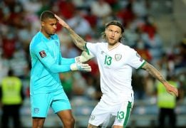 Republic Of Ireland Number One Gavin Bazunu Not Taking His Position For Granted