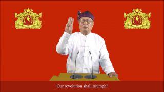 Myanmar Opposition Calls For Uprising Against Military Regime