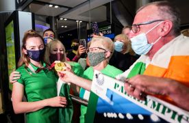Ireland's Paralympians Receive Warm Welcome Home From Family And Friends