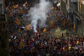 Catalan Separatists Rally In First Major Gathering Since Start Of Pandemic
