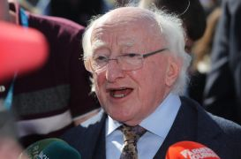Dup Leader Hopes Michael D Higgins Will Rethink Decision To Miss Ni Centenary Service