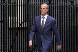 Raab Still A Key Player In Uk Government Despite Demotion Says No 10