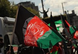 Protesters In Dublin Criticise Afghanistan's Taliban Regime