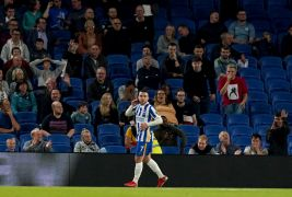 Aaron Connolly At The Double As Brighton Sink Swansea