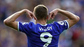 Jamie Vardy Scores Own Goal But Fires Double To Rescue Leicester Point