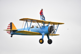 Man In Search Of Stem Cell Donor Says He Felt 'Alive' After Wing Walk