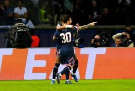 Messi Scores Maiden Goal For Psg In 2-0 Win Over Man City