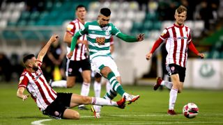 Shamrock Rovers Stay Top Of The Table With Win Over Derry City
