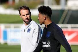 Gareth Southgate Backs Jadon Sancho To Impress, Given Time