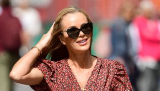 Amanda Holden Pictured On First Day Of Filming For Neighbours