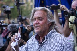 Capitol Riot Panel Sets Vote On Contempt Charges Against Steve Bannon
