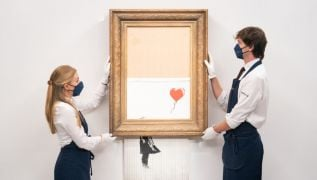 Partially Shredded Banksy Painting Sells For More Than €21M