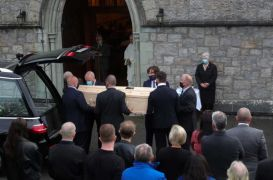 Chieftains Founder Paddy Moloney Lived For Music, Mourners Told