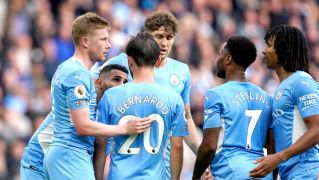 Manchester City See Off Burnley At The Etihad
