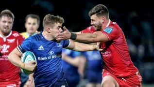 Seven-Try Leinster Storm To Victory Over Scarlets