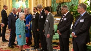 Queen Elizabeth Welcomes Billionaires And Tech Entrepreneurs To Windsor Castle
