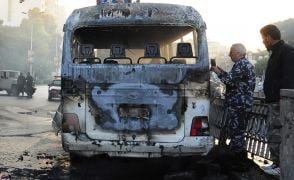 14 Die As Bombs Destroy Bus Carrying Syrian Soldiers In Damascus