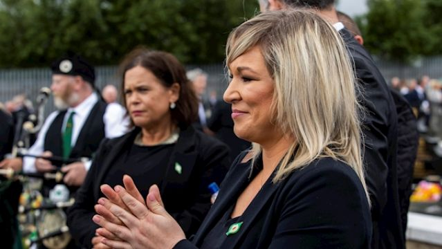 Bobby Storey Funeral Undermined Covid-19 Health Messaging, Michelle O'neill Says